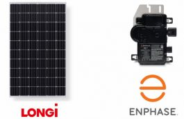 Enphase Energy and LONGi Solar Announce AC Module Partnership