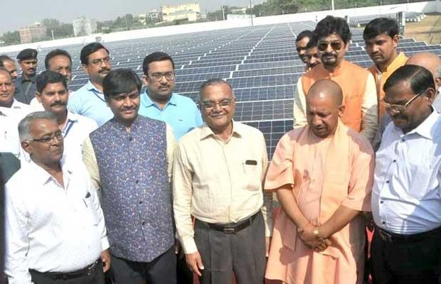 CM inaugurates 1230 kW solar power plant