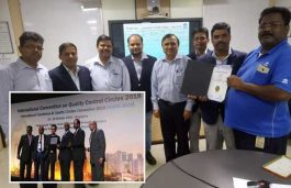 "Tata Power bags ""GOLD"" & ""Best Project From India"" at the International Convention on Quality Control Circles (ICQCC) 2018 Award"