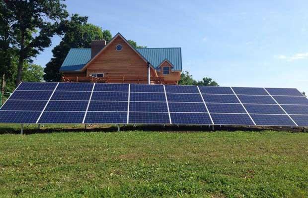 ground-mounted solar power