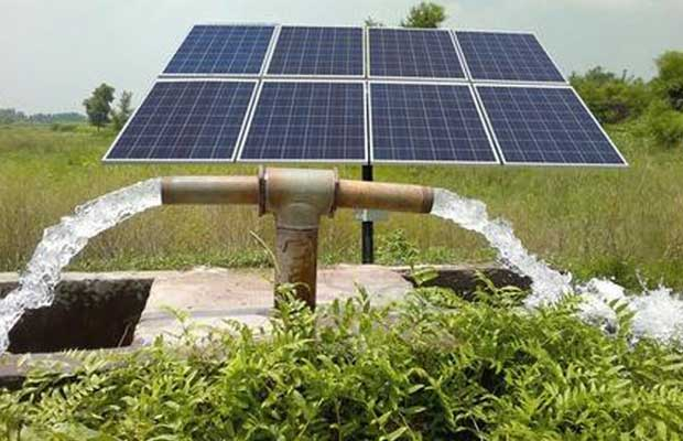 solar pumps to farmers