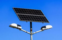 NHAI Installs Solar Street Lights on Chennai Road