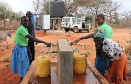 Solar Water Solutions, World Vision Launched SolarRO Unit in Kenya