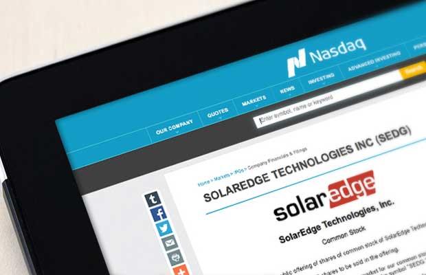 SolarEdge Technologies third quarter