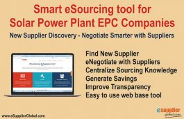 AI Powered eSourcing Tool Helps EPC Companies to Source, Negotiate Smarter Online