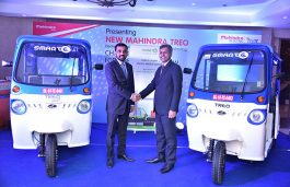 Mahindra Partners with SmartE to launch Mahindra Treo and Treo Yaari Electric Three Wheeler
