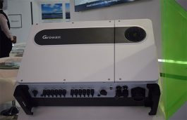 Growatt Showcases Range of Products at Intersolar India