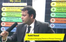 Interview with Sushil Bansal, Founder & Managing Director, Novasys Greenergy