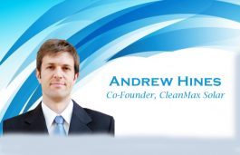 Viz-A-Viz with Andrew Hines, Co-Founder, CleanMax Solar