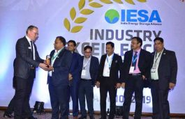 "Okaya Bags Prestigious ""Emerging Energy Storage Company of the Year"" Award from IESA"