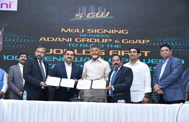 Government of Andhra Pradesh Signs MoU With Adani Group