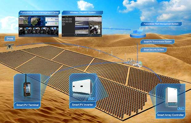huawei 1500v smart pv solution