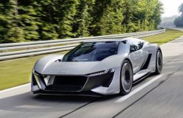 Audi to Begin Production of its All-Electric PB18 e-tron Supercar