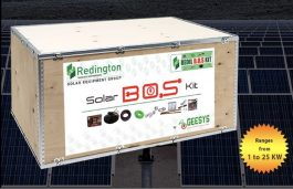 Redington Completes Supply of 11 MW of Solar PV Panels