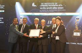 Tata Power Wins 3rd ICSI CSR Excellence Award 2018
