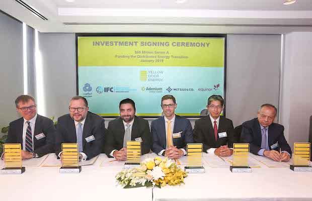 Yellow Door Energy Raised $65 Million