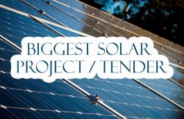 Biggest Solar Project/Tenders for the week