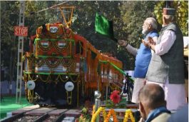 Narendra Modi Flags Off First Ever Diesel to Electric Locomotive