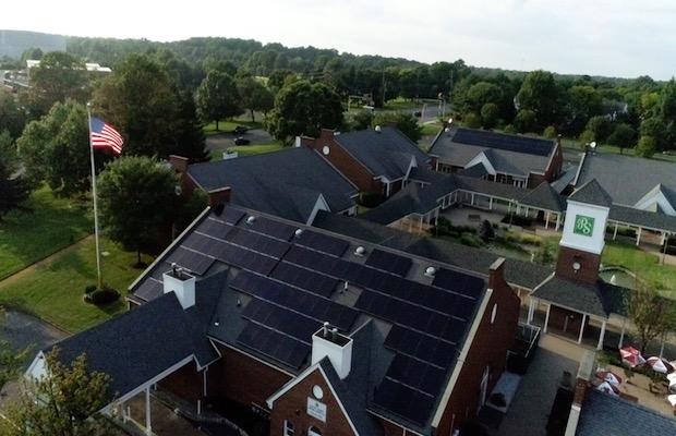 Solar Landscape Rooftop