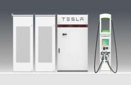 VW'S Electrify America Will Use Tesla Battery Packs at 100 Charging Stations