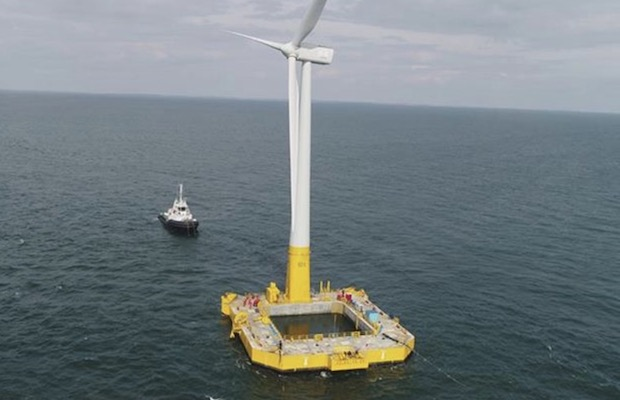 France's First Offshore Wind Project
