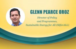 Viz-A-Viz with Glenn Pearce Oroz, Director of Policy and Programmes, Sustainable Energy for All (SEforALL)