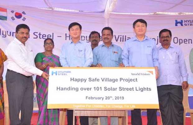 Hyundai Steel and World Vision India