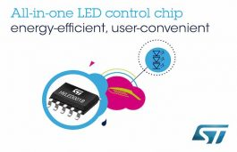 Lighting Control Chip by STMicroelectronics Offers Greater Energy Savings