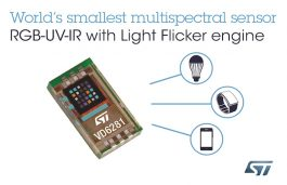 STMicroelectronics' New Light Sensor Boosts Camera Performance