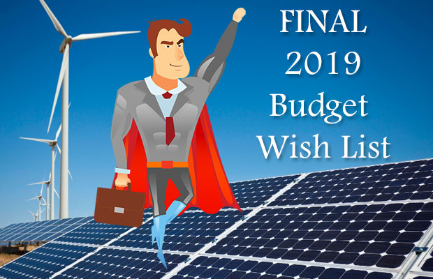 the final 2019 budget wish list