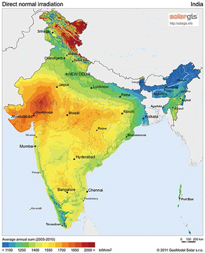DNI Map of India