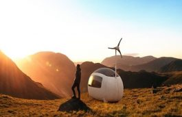 Self-Sustaining Micro Home by Nice Architects, the Ecocapsule