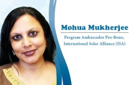 Interview with Mohua Mukherjee, Program Ambassador Pro-Bono, International Solar Alliance