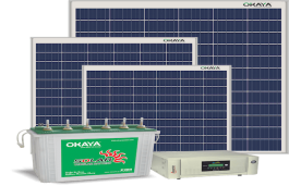 Okaya Launches All-in-One Solar Power Generation System