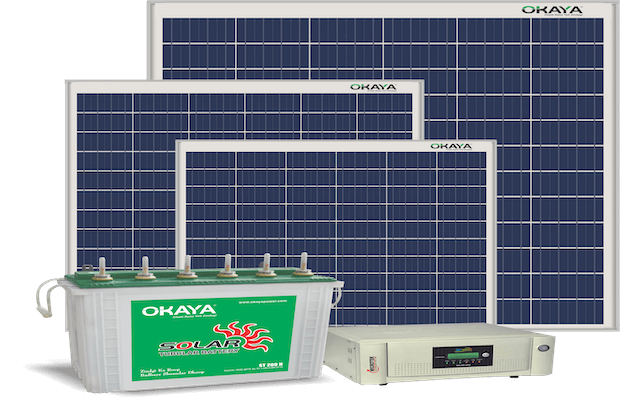 Okaya Solar Power Generation System