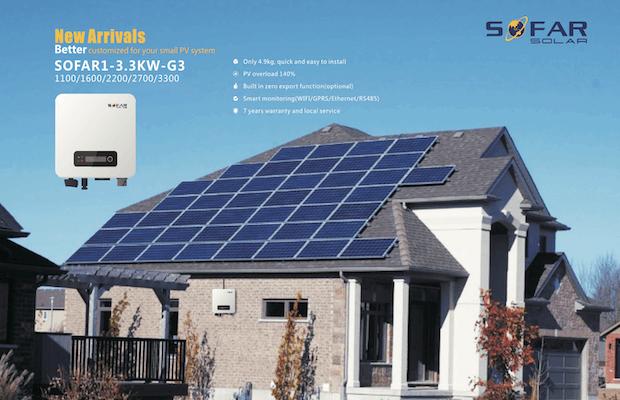 Sofar Solar Third Generation Inverter