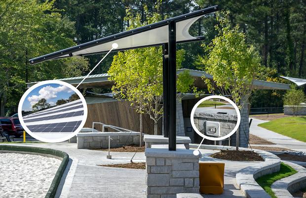 Solar Sail Canopy
