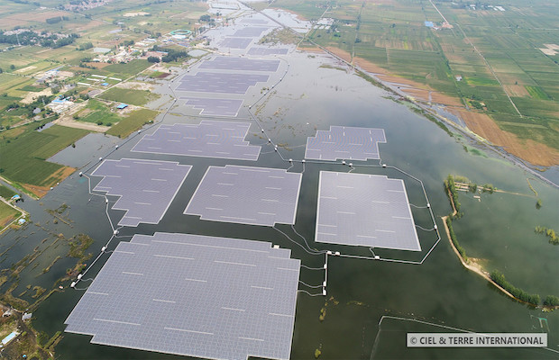 World's Largest Floating Solar Plant in China