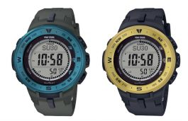 Casio Launches New Watches in Pro Trek Series with Solar Power Technology
