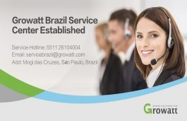 Expanding its Global Presence, Growatt Sets Up Service Centre in Brazil