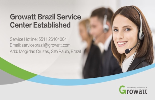 Growatt Service Centre in Brazil