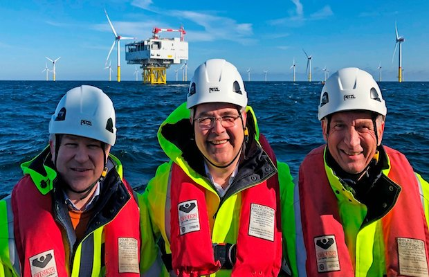 Largest Offshore Wind Farm in the Baltic Sea