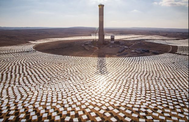 EDF Masdar Hybrid Solar Morocco