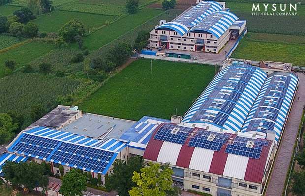 MYSUN rooftop solar space