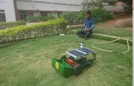 Telangana Students Develop 3-in-1 Solar Cleaning Machine