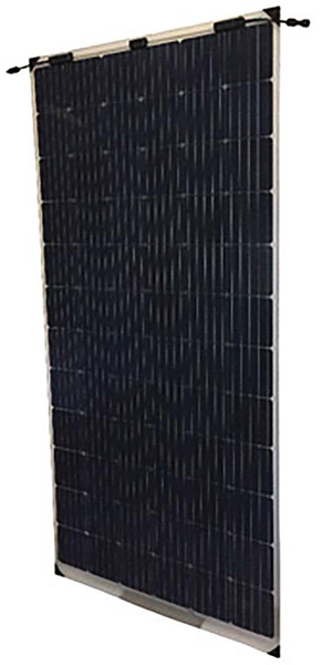 A Bifacial module from Waaree Energies