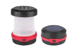 ABS Foldable Solar Power Camping Lantern