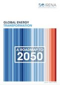 IRENA Report on Global energy transformation: A roadmap to 2050 (2019 edition)