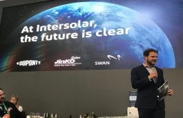 JinkoSolar Launches New Bifacial Module with Transparent DuPont Backsheet at Intersolar Europe 2019