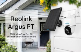 Reolink Launches 'Argus PT' Solar-Powered Smart Home Camera